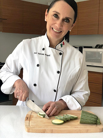 Chef Gaby Roqueni